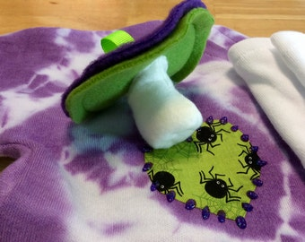 Plush Pacifier Chupie Nuk Binkie for your Baby Zombie