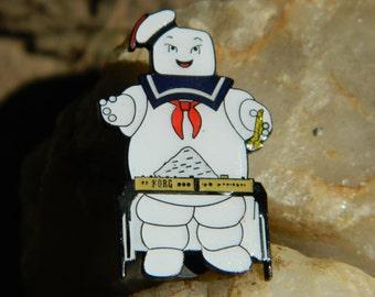 Pillsbury dough boy white girl hat pin