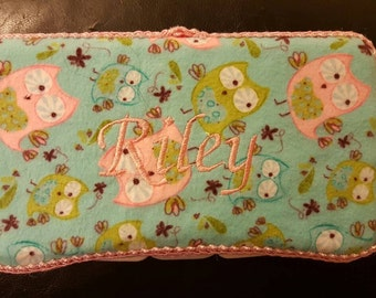 Personalized Travel Diaper Wipe Container
