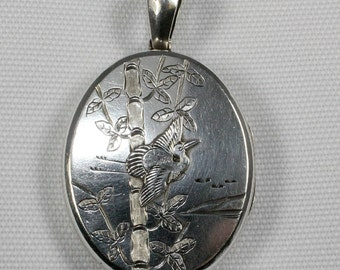 Sterling Silver Antique Locket