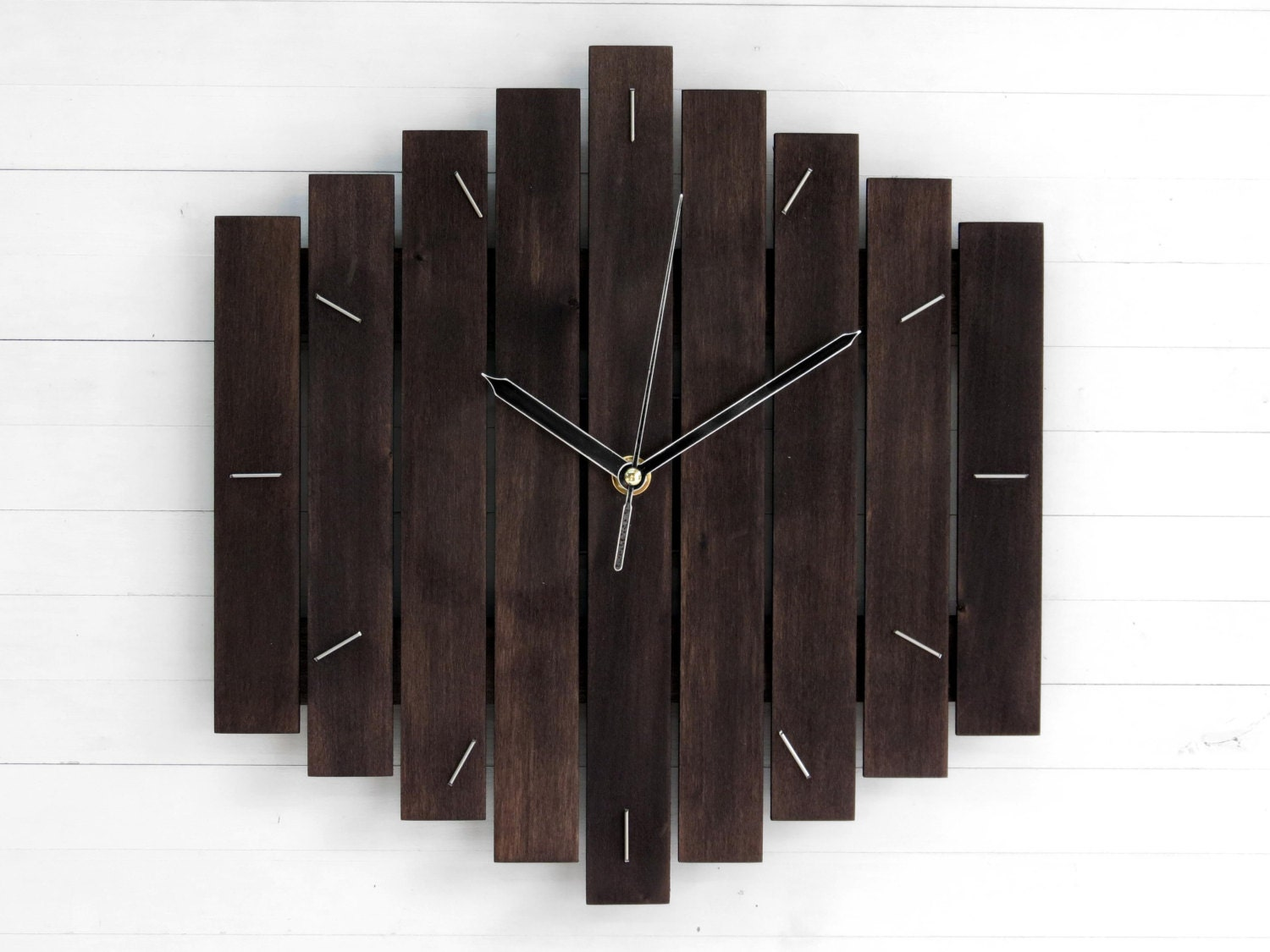 Wall clock minimalist decor steampunk wall clock oversized zoom amipublicfo Choice Image