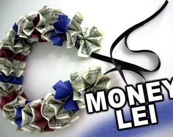 Money Lei for Graduation Gift