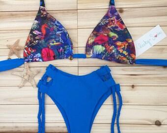 Coral Reef Braided Bikini