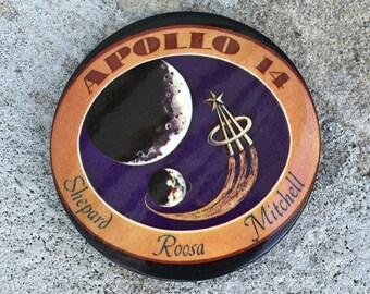 Apollo 14 Memorabilia Pin