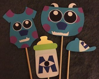 Monsters Inc sulley cutouts/props