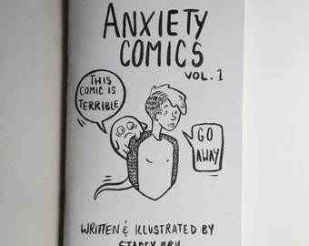 Anxiety Comics Volume 1 Zine