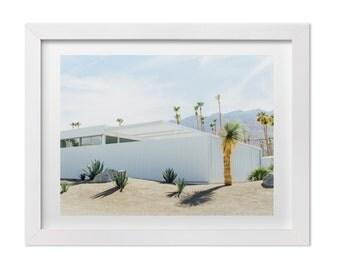 Palm Springs Photography, Desert Landscape Art Print, California Print, Architecture Art, Palm Springs Print, Mid Century Modern Print