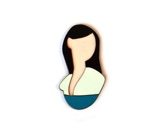 PIN Formica Mulan