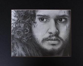 Jon Snow- Graphite pencil drawing