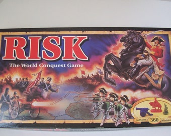 RISK the World Conquest Game Vintage 1993