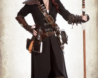 Alchemist complete set for LARP, action roleplaying and cosplay