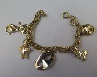 Masquerade Ball Charm Bracelet