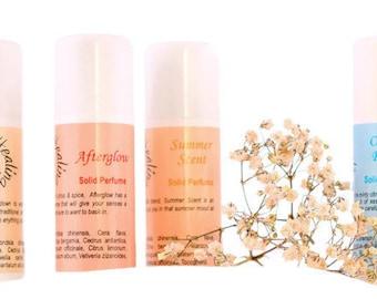 Bâtons de parfum solide | Parfum féminin | Parfum naturel | Huile essentielle parfum | Huiles parfumées