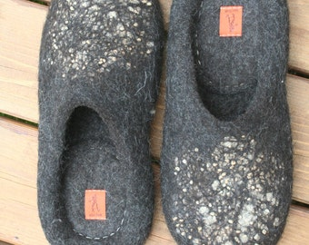 Women's felted slippers  just one pair for order available