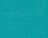 Burlap Fabric, Turquoise Jute Burlap, French Country Farmhouse, Shabby Cottage, Craft/Sewing/Diy/Home Decorating, Fabric By The Yard