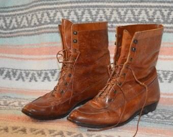 Vintage Southwestern Witch Boots Sz. 36 1/2