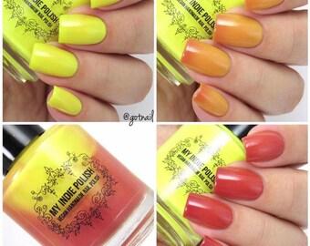 Solar nail polish - Tequila sunrise 15ml Vegan