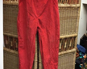 Sassy red cords trousers