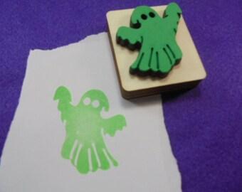 Stamp, ghost, spirit, 5x4 cm