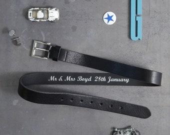 Personalised Secret Message Belt