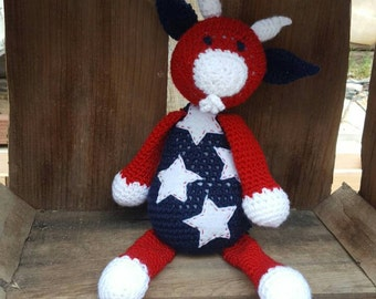 Patriotic Goat - Ready to Ship