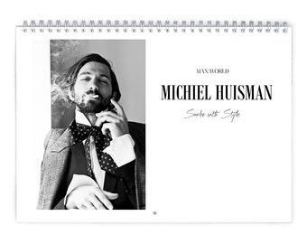 Michiel Huisman Vol.1 - 2018 Calendar