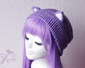 Catear-Beanie (lilac)