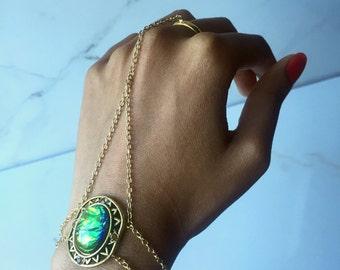 Mother of Dragons Hand Bracelet/Hand Chain - Game of Thrones - Khaleesi Inspired