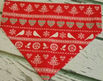 Chirstmas Sweater Dog Bandana