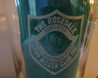 Award - LOUD MOUTH CLUB Inc Pitcher - From The Rosedale Club - Award Pitcher Club Award-