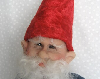 FOREST GNOME ~ Fantasy Art Doll by Terry Richards