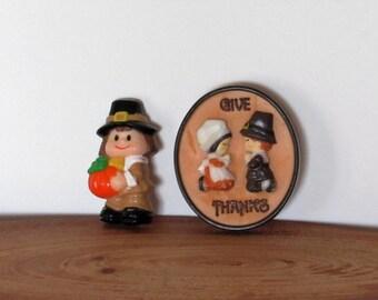 Thanksgiving Pins, Set of 2