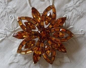 Vintage Brooch, Rhinestone Brooch, Estate Jewelry, Vintage Jewelry, Vintage Brooches, Art Deco Brooch, Vintage Pin, Vintage Pins