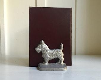 Vintage Scottish Terrier Bookend / Book End