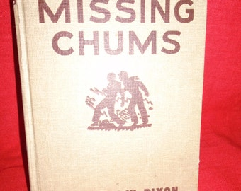 Vintage Hardy Boys The Missing Chums By Franklin W Dixon