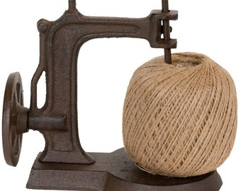 Cast Iron Sewing Machine with Twine Spool 39-2GDG134
