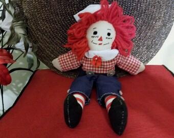 Raggedy Andy 10 Inch Doll C5
