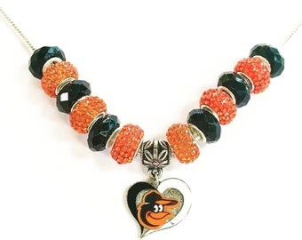 Baltimore Orioles Necklace