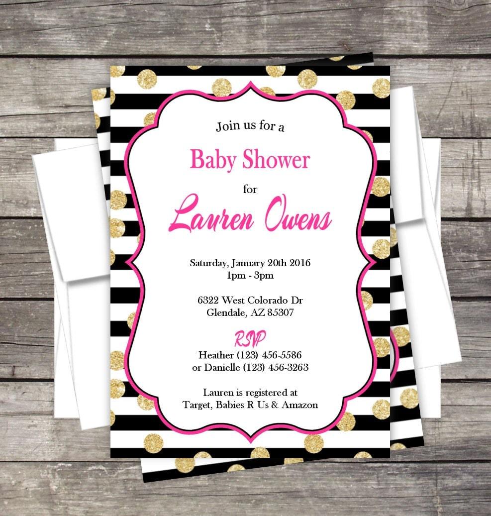 bridal shower invitation birthday baby shower bridal