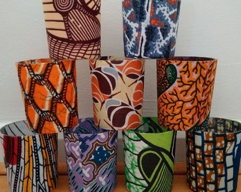 African Wedding Tealight Holders, set of 20, African Wedding Decor, Boho Wedding, Votive Candle Holders, The African Shop, Detola and Geek