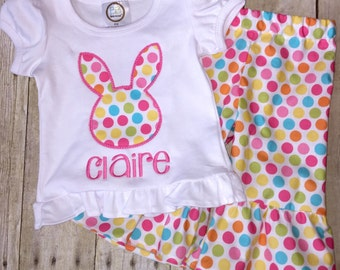 Perfecr for Easter!!! Sz 5T to 8 bunny pants set