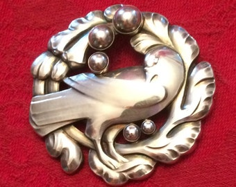 HUGE Jensen Dove Brooch - # 70