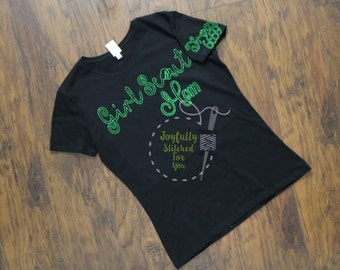 Girl Scout Mom, Girl Scout Troop leader, Girl Scout Dad, Girl Scout shirt