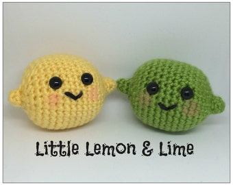 Little Lemon & Lime Plush Crochet Toy