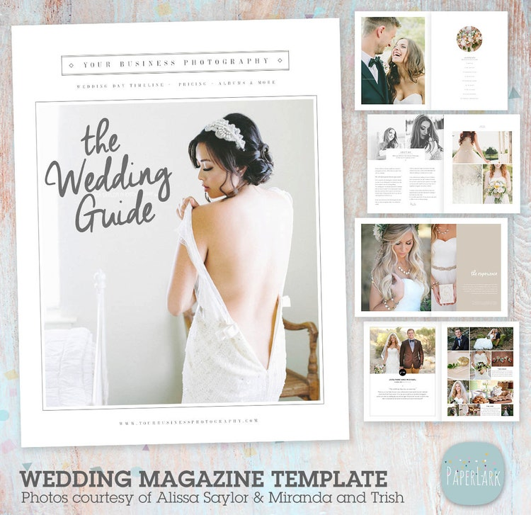 Wedding Photography Magazine 33 Page Welcome By
