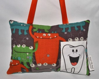 Tooth Pillow - Monsters