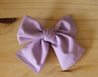 Big Big Lovely Lavender (headband or clip)