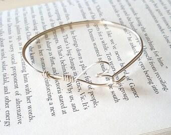 Wire Wrapped Symbol Bracelet
