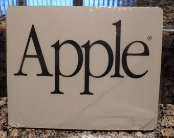 Vintage Apple Computer Mouse Pad - Six in Package