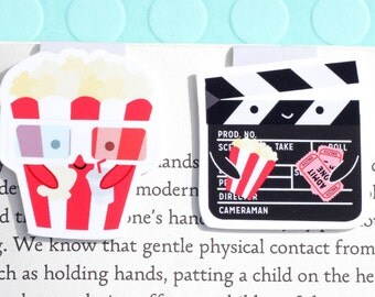 Movie Magnetic Bookmark (Mini 2 Pack)